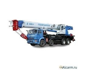 Автокран 60 тонн, Галичанин КС-65721-6 круглосуточно
