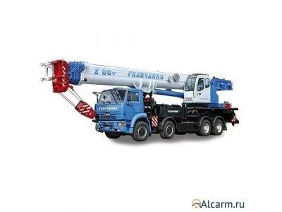 Аренда автокрана 60 тонн, Галичанин КС-65721-6