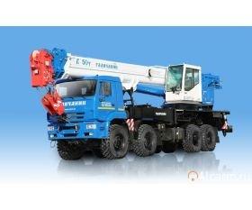 Автокран-вездеход 50 тонн, Галичанин КС-65713-6 круглосуточно