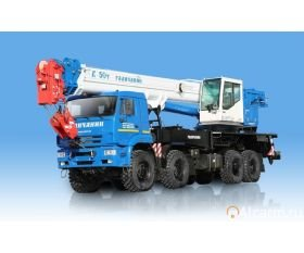 Автокран Галичанин КС-65713-6 50 тонн круглосуточно