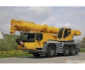 Автокран 60 тонн, LIEBHERR LTM 1060 круглосуточно