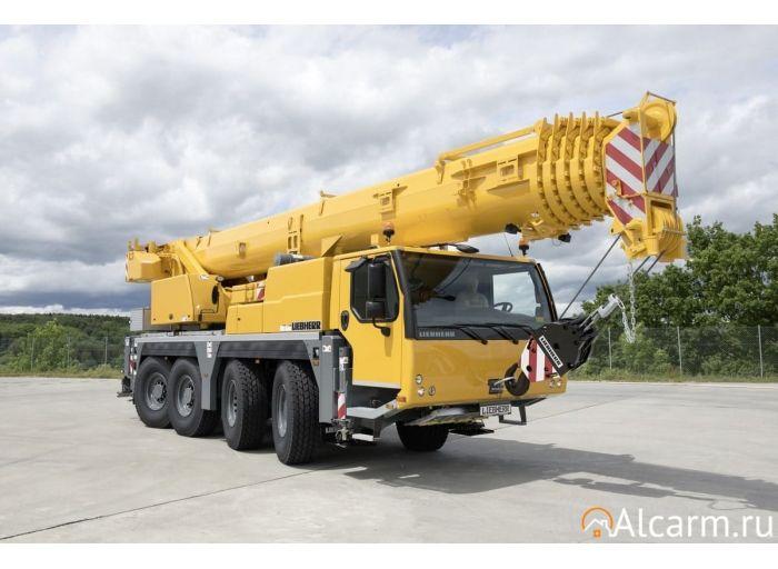 Аренда автокрана 70 тонн, LIEBHERR LTM 1070