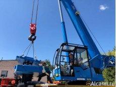 Аренда автокрана-вездехода Клинцы КС – 65719-3 на базе КАМАЗ-63501, 40 тонн
