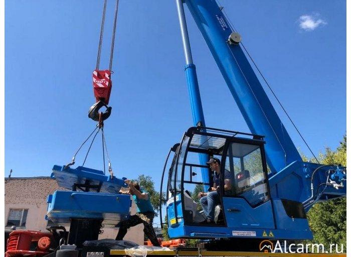 Аренда автокрана-вездехода 40 тонн, Клинцы КС – 65719-3 на базе КАМАЗ-63501
