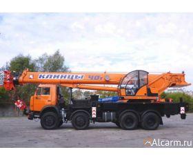 Автокран 40 тонн, Клинцы КС – 65740-8 круглосуточно