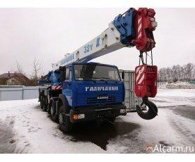 Автокран 32 тонны, Галичанин КС-55729-1B круглосуточно