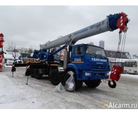 Автокран-вездеход 32 тонн, Галичанин КС-55729-5В круглосуточно