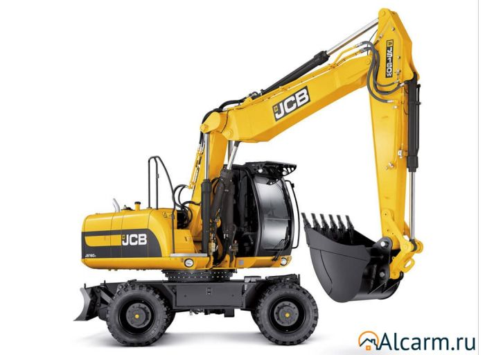 Аренда колесного экскаватора JCB 160 W