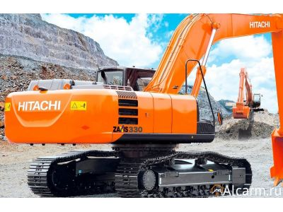 Аренда гусеничного экскаватора Hitachi ZX330