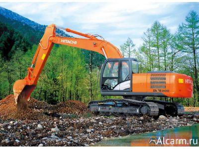Аренда гусеничного экскаватора Hitachi ZX200LC