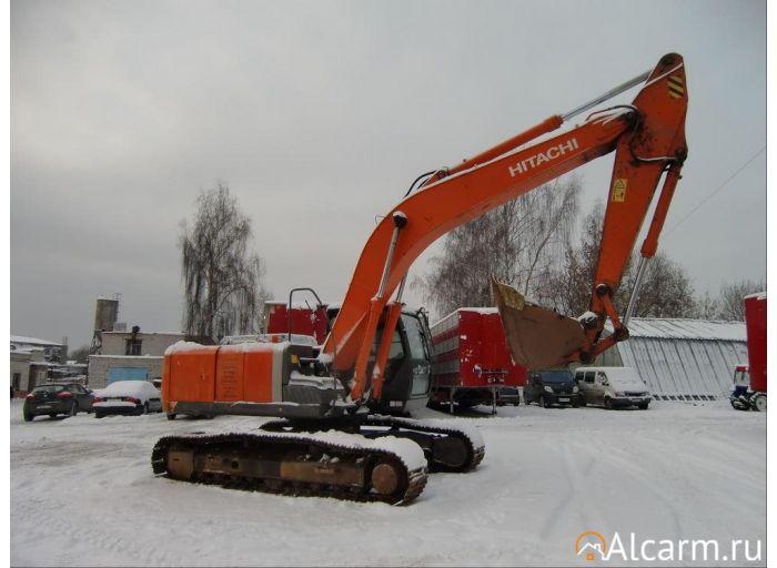 Аренда гусеничного экскаватора Hitachi ZX240LC-3