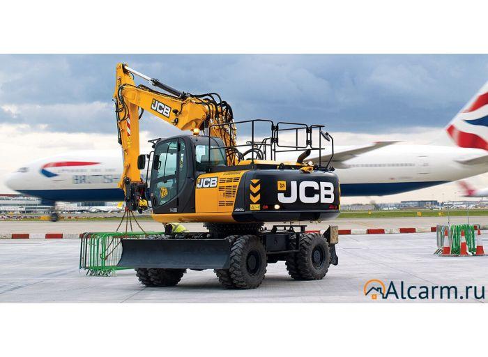 Аренда колесного экскаватора JCB 200 с гидромолотом