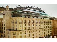 Строительство отеля Арарат Парк Хаятт в Москве (2007-2010)