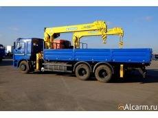 Аренда Манипулятора 6,2 тонн, Камаз 65117