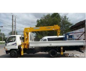 Кран-манипулятор 3,2 тонн Hyundai HD 78 c КМУ Soosan 334 круглосуточно