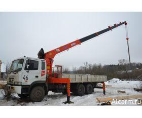 Кран манипулятор 7 тонн, HYUNDAI-TRAGO круглосуточно