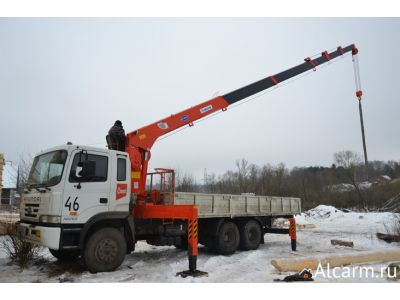 Аренда Манипулятора 7 тонн, HYUNDAI-TRAGO