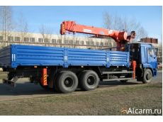 Аренда Манипулятора 7 тонн, Камаз 43118