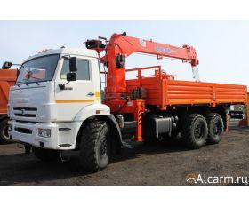 Кран манипулятор-вездеход 7 тонн, КАМАЗ 43118 Kanglim круглосуточно