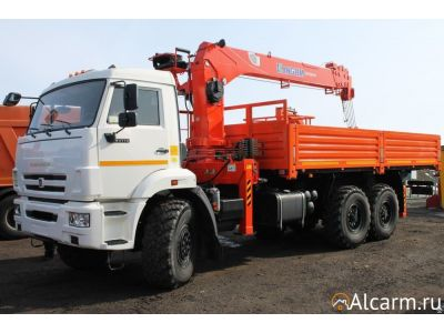 Аренда Манипулятора-вездехода 7 тонн, КАМАЗ 43118 Kanglim