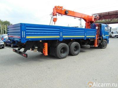 Аренда Манипулятора 20 тонн, Камаз 65115