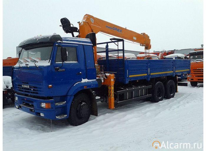 Аренда Манипулятора 10 тонн, Камаз 65117-2