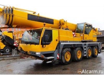 Услуги автокрана 70 тонн